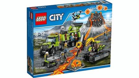 Lego Volcan