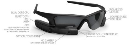 Recon Jet, una alternativa a Google Glass para amantes del deporte