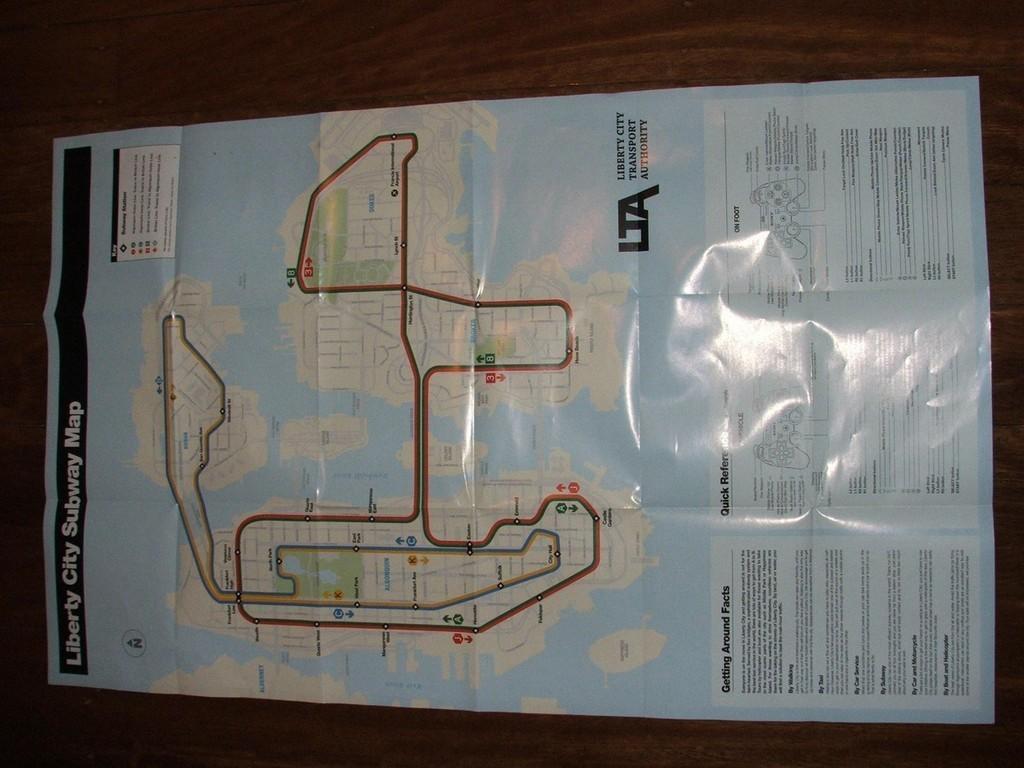 Foto de Mapa GTA IV (1/6)