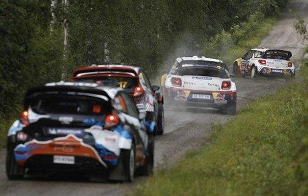 Rally de Finlandia 2012: la batalla entre los Citroën sigue viva