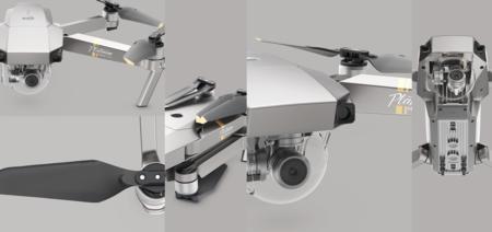 DJI Mavic Pro Platinum y Phantom 4 Pro Obsidian: los drones más populares de DJI se renuevan