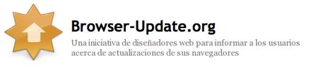 Insta a tus visitantes a tener su navegador siempre actualizado gracias a Browser Update