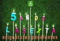 Cinco años de laSexta: Asignaturas pendientes