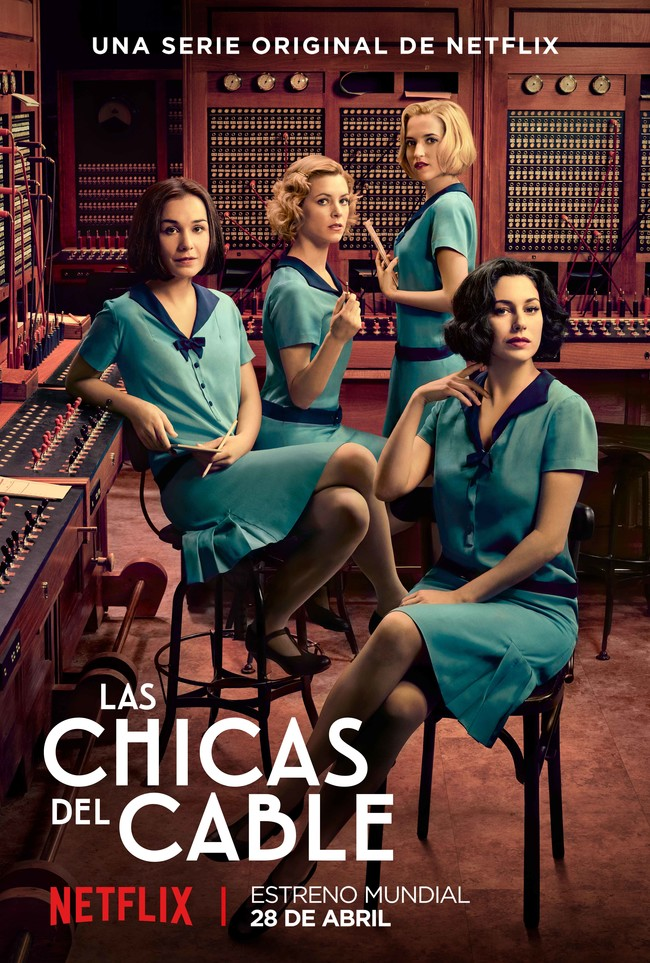 Laschicasdelcable Poster