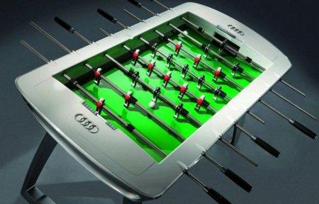 Audi también diseña su propio futbolín