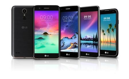 Esta es la alineación de smartphones de gama media que LG  lanzará en 2017