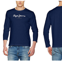Camiseta de manga larga Pepe Jeans Eggo Long rebajada a 18,90 euros en Amazon. Tallas desde la XS a la XXL