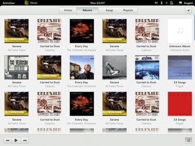 GNOME trabaja en un nuevo diseño de sus aplicaciones base