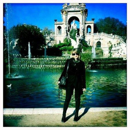 Dianna Agron, turista guiri en Barcelona