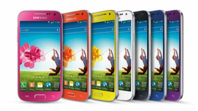 Galaxy S4 mini llega también en un completo abanico de colores