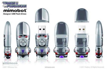 Nuevas memorias USB de Mimobots inspiradas en Transformers