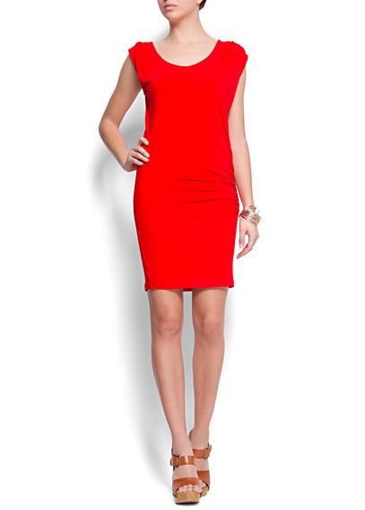 Vestido Mango rojo 2