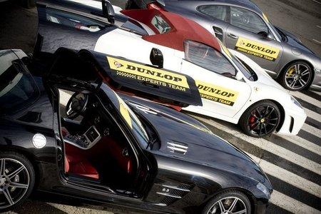 Mercedes SLS AMG, Ferrari F430 Spider y Porsche 911 Turbo S