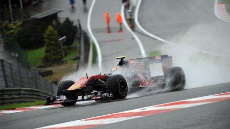 GP de Bélgica de Fórmula 1: Jaime Alguersuari vuelve a reunirse con los puntos