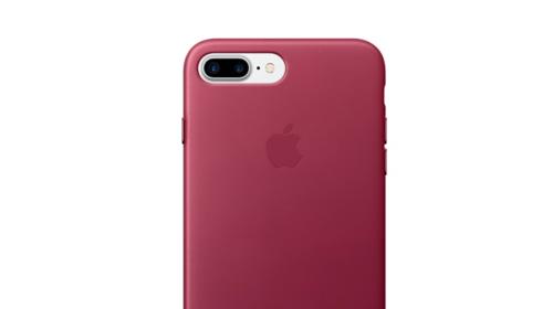 Apple actualiza las fundas de silicona y piel para el iPhone 7 y el iPhone 7 Plus en nuevos colores