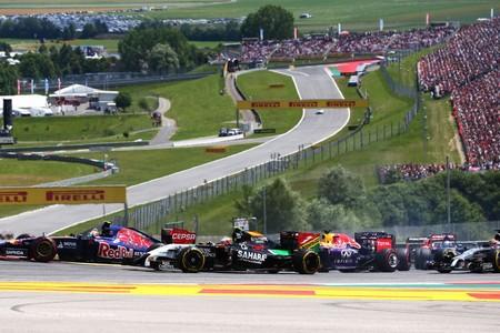 Red Bull Ring F1