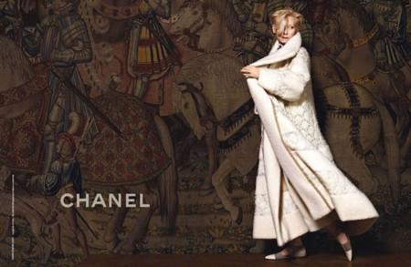 Tilda Swinton, la nueva cara de Chanel para su colección Pre-Fall 2013 Paris-Edimbourg