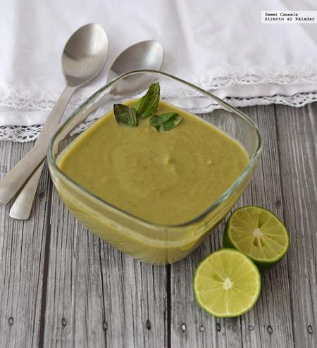 Sopa Alcachofa Espinaca