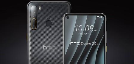 HTC Desire 20 Pro detalle
