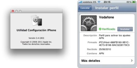Cómo configurar la red de datos móviles en iOS
