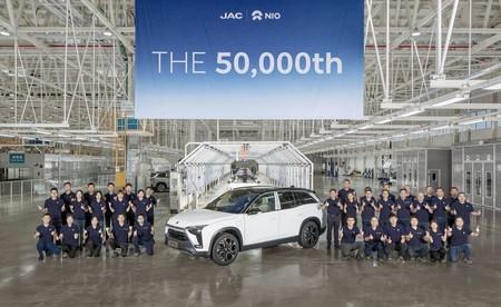 NIO, el Tesla chino, fabrica su coche eléctrico número 50.000 mientras se asegura una inyección de capital estatal