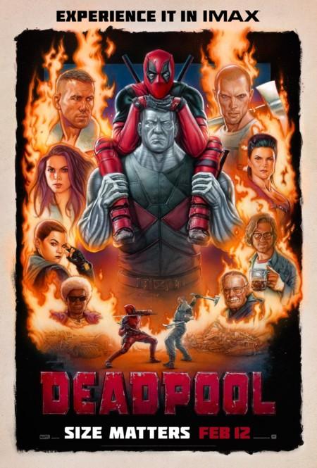 Mejores Posters 2015 Blogdecine Deadpool