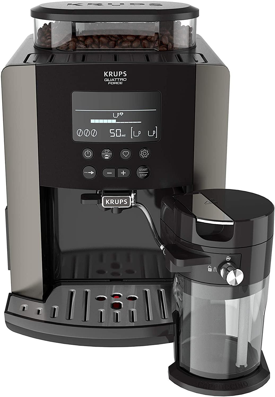 Cafetera superautomática de Krups Quattro Force Arabica Latte