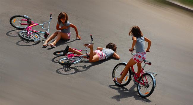 Bicicletas y accidentes