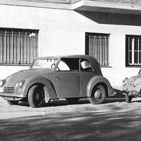 Así era el DAR, el primer coche eléctrico fabricado artesanalmente en España en 1946