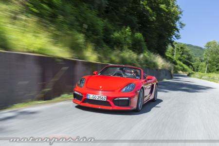 Porsche Boxster Spyder Toma Contacto 5
