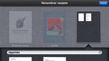 Nuevo gestor de documentos de iWork, ¿un adelanto de iOS 5?