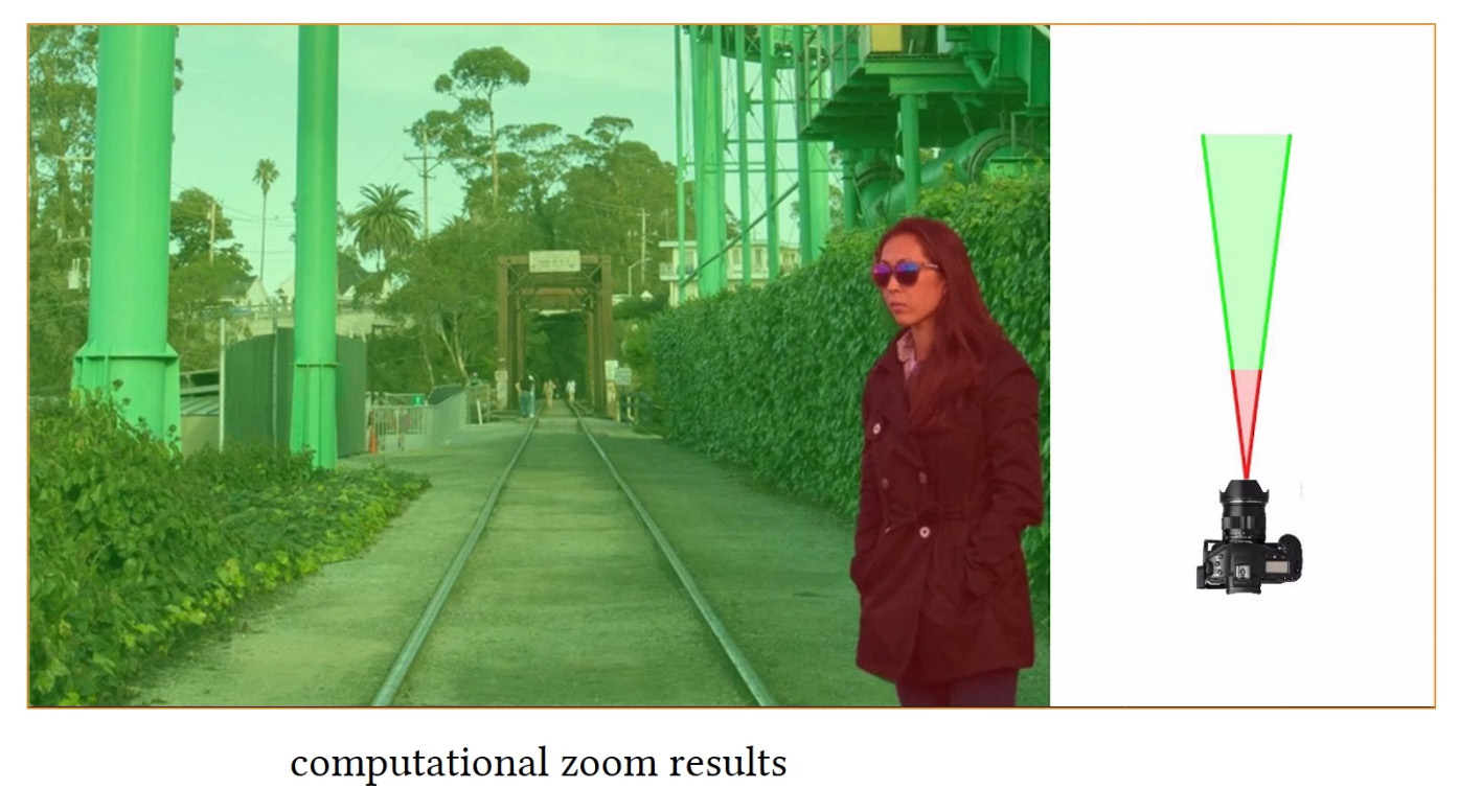 """La nueva tecnología """"zoom computacional"""" promete poder ajustar la composición de una fotografía a posteriori 1"""