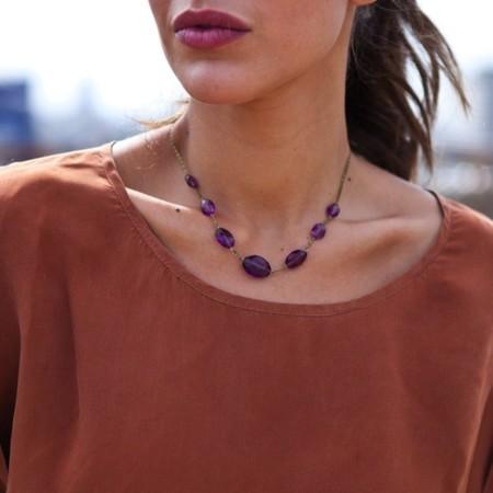 collar vintage rue 74