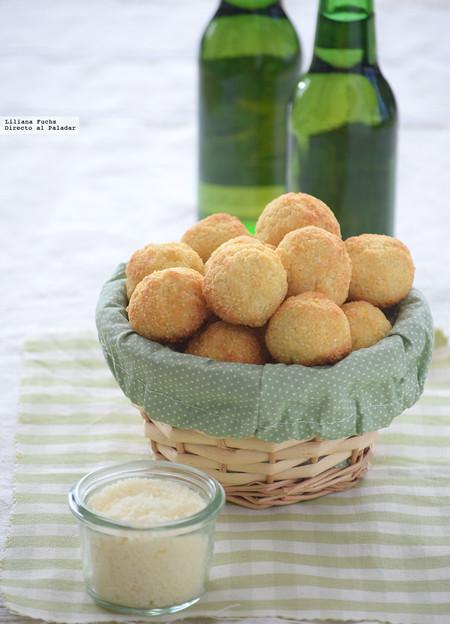 Pan de queso minero o pão de queijo mineiro: receta de picoteo brasileño