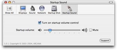 Más control sobre el sonido de inicio del Mac