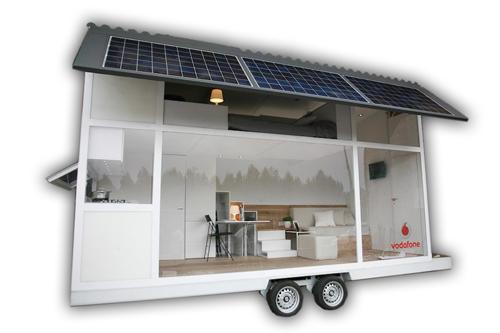 Casas poco convencionales vivir en un remolque for Casetas prefabricadas pequenas