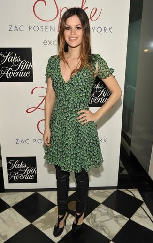 Los looks de primavera de Rachel Bilson y Amber Valletta vestidas por Zac Posen en Z Spoke