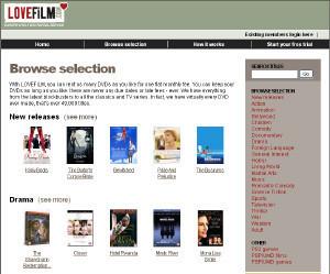 Descubrir las 100 películas de Lovefilm