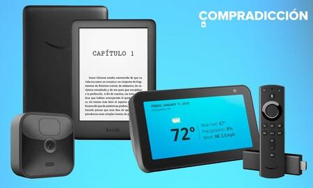 Ofertas de Amazon en Kindle, Fire TV, Echo Show y cámaras Blink