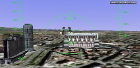 La actualización de Google Earth trae escondido un simulador de vuelo
