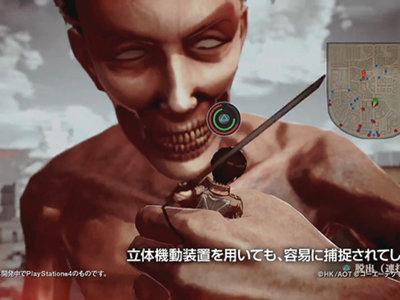 Attack on Titan muestra su sistema de batalla donde veras que eliminar a los gigantes no será tan fácil como crees