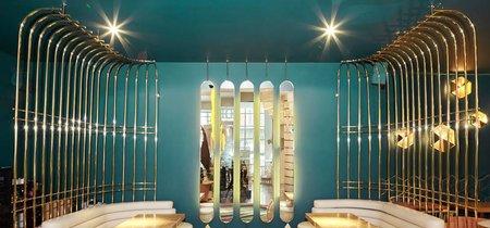 Muy fans del renovado Larios Café, una maravilla del diseño firmada por Tomás Alía
