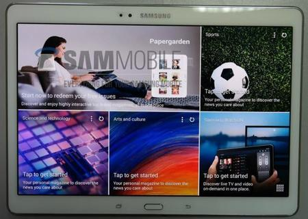 Ya esta listo el Benchmark de la Samsung Galaxy Tab S 8.4