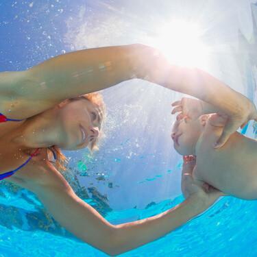 Hidroterapia para bebés: los baby spa están de moda