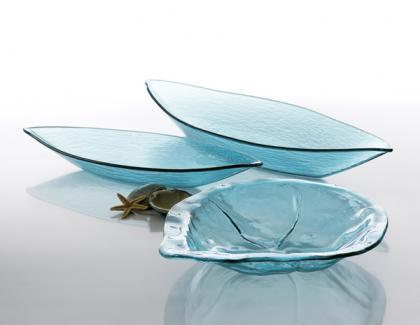 Centros de mesa de cristal de Annieglass