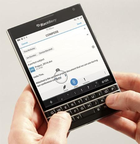 Apunta la fecha: evento de Blackberry el 24 de septiembre, 'Passport' en el punto de mira