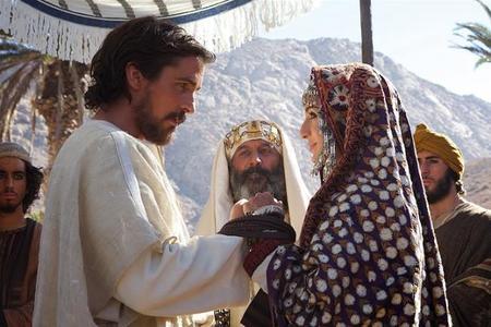 Christian Bale y María Valverde en