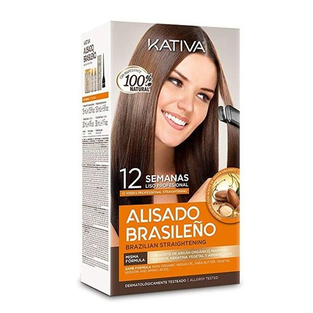 Alisado Brasileno Kativa Kit