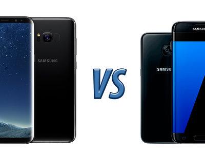 Samsung Galaxy S8 vs Galaxy S7: esto es todo lo que ha cambiado