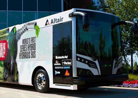 Autobús híbrido hidráulico, 30% más eficiente que un híbrido eléctrico